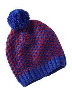 Women s Sweater-Knit Pom-Pom Beanies Pom Pom Beanie Hat 8462e6660c37