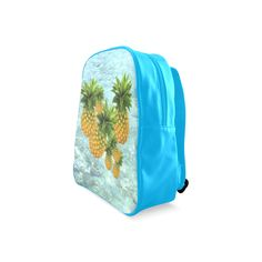Pineapples School Backpack. FREE Shipping #artsadd #lbackpacks #fruits