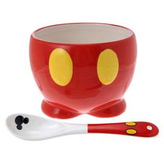 Mickey Mouse Bowl and Spoon