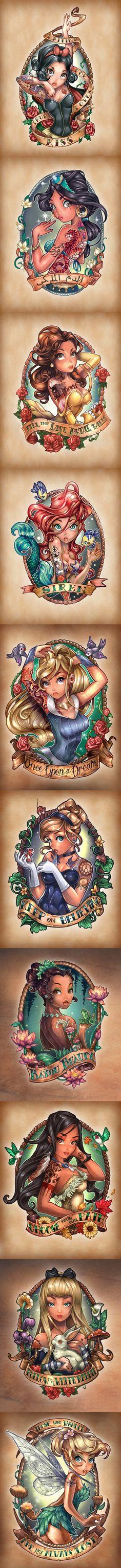 Disney prinsessen.