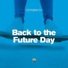 Have you been avidly awaiting the arrival of your flying car? The Hoverboard? #BackToTheFutureDay  Back to the Future Day - 21 Oct 2016