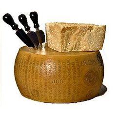 wow 1k bucks of Parmigiano Reggiano, the best cheese in the world.  Beware of fake Parmesan