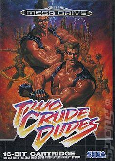 Sega Genesis Two Crude Dudes