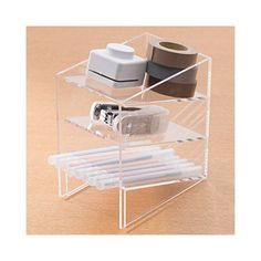 Nursing Notes Discover [Acrylic Storage]Acrylic Rack S Acrylic Storage Desktop Organization, Home Organization, Office Organisation, Organization Station, Acrylic Display, Office Equipment, Office Storage, Household Items, Arquitetura