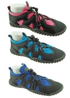 Ladies Mesh Water Shoes with Quick Tight Lace Size 9 * To view further for this item, visit the image link.