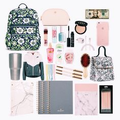 what's in my backpack??