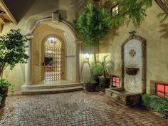 Phoenix, AZ wrought iron entry gate ... see more on realtor.com