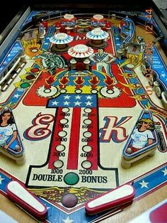 The Battle of the Pinball Machines! Vintage Games, Vintage Toys, Evel Knievel Toys, Evil Kenevil, Flipper Pinball, Pinball Wizard, Penny Arcade, Oldies But Goodies, Old Games