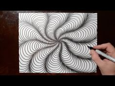 Cool Sketch Doodle Technique - Drawing a Random Pattern - YouTube