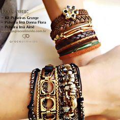Na loja virtual você pode escolher diversos acessórios que vão dar um up no seu visual. www.lojagracealmeida.com.br #acessoriees #accessories #braceletes #bijuteriasemcuritiba #bohochic #coachella #blogger #chic #curitiba #designer #design #etnico #fashionismo #fashionstyle #fashionjewelry #fashionblog #fashion #gracealmeidabijoias #glam #hippiechic #habdmade #healthylifestyle #instafashion #lookdodia #jewelry #moda #trend #streetstyle #style