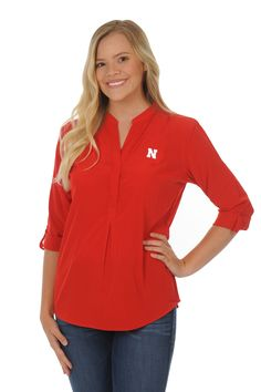 Nebraska Huskers Red Classic Tunic