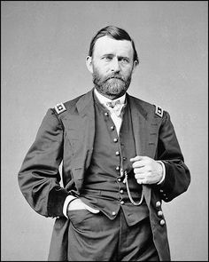 Photo of Ulysses S. Grant by Matthew Brady