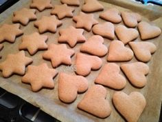 Baby Food Recipes, Sweet Recipes, Cookie Recipes, Gingerbread Cookies, Christmas Cookies, Tasty, Yummy Food, Ginger Cookies, Baking And Pastry