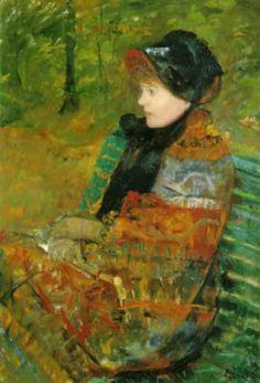 Мэри Кэссет. Осень. 1880 Малый дворец в Париже. Масло, холст