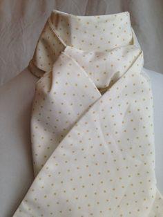 Stock Tie for dressage hunter derby or fox by GoneAwaySideways