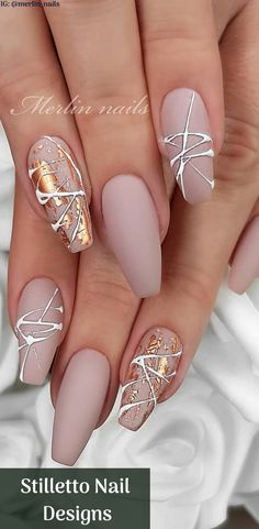 Stilletto Nail Designs Round/Triangle/Square/Sea Animal Nails, Bags, Shoes, Cell Phone, Box Nail A Stylish Nails, Trendy Nails, Cute Nails, Nagellack Design, Nagellack Trends, Best Acrylic Nails, Acrylic Nail Designs, Perfect Nails, Gorgeous Nails