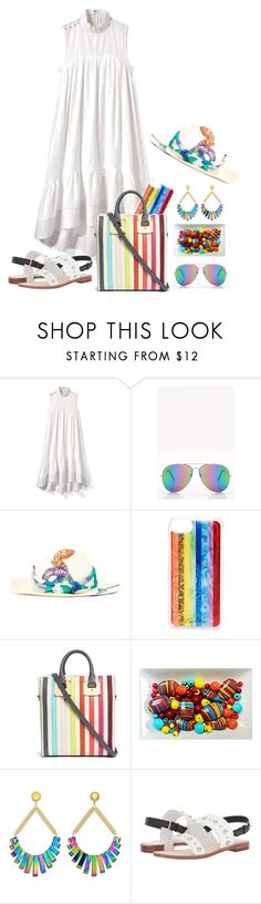 """""""Light and Day"""" by christined1960 ❤ liked on Polyvore featuring 3.1 Phillip Lim, Boohoo, Ibo-Maraca, Edie Parker, Sophie Hulme, Vanessa Mooney and Kate Spade"""