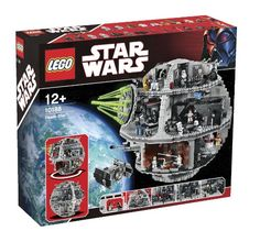 Star Wars Lego - the Death Star - can you remember Sheldon building this?