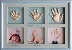 как сделать слепок руки ребенка