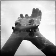 analog double exposure by Florian Imgrund.