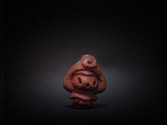 木彫り土偶 17号