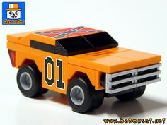 Micro Lego General Lee. Awesome!
