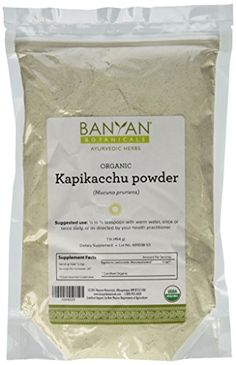 Best price on Banyan Botanicals Kapikacchu Powder - Certified Organic, 1 Pound - Mucuna pruriens - Nutritive tonic that supports proper function of the reproductive and nervous system* //   See details here: http://thepersonalcare.com/product/banyan-botanicals-kapikacchu-powder-certified-organic-1-pound-mucuna-pruriens-nutritive-tonic-that-supports-proper-function-of-the-reproductive-and-nervous-system/ //  Truly a bargain for the inexpensive Banyan Botanicals Kapikacchu Powder - Certified…