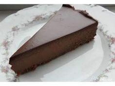 Pear And Chocolate Cake, Chocolate Bonbon, Chocolate Sweets, Chocolate Cheesecake, Delicious Chocolate, Czech Desserts, German Baking, Czech Recipes, Cheesecake Recipes