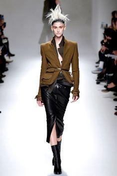 Haider Ackermann Fall 2013 Ready-to-Wear Fashion Show - Daiane Conterato (Elite)
