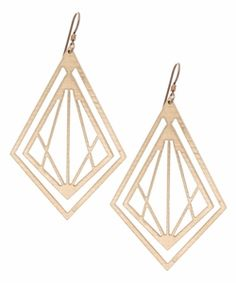 METRONOME earrings by Chime Jewelry - Made from re-purposed drum cymbals - I named these! :)