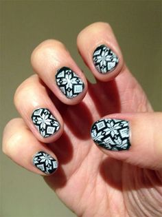 32 best winter sweater nail art designs images  sweater