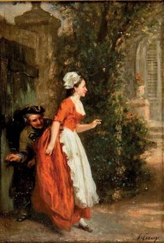 soubrette paintings - Búsqueda de Google Victorian Art, French Art, Art World, This Is Us, Culture, Maids, History, Painting, Artists