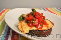 This summer was full of grilling, fresh veggies and fresh herbs. One of my favourite dishes made good use of a grillable style of cheese called Haloumi,. Grilled Eggplant, Made Goods, Fresh Herbs, Baked Potato, Grilling, Stuffed Peppers, Dishes, Vegetables, Breakfast