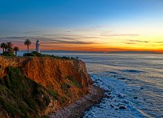 Port Vicente Lighthouse. Rancho Palos Verdes, CA