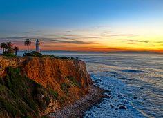 Port Vicente Lighthouse. Rancho Palos Verdes, CA