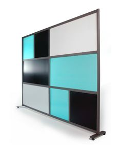 LOFTwall Room Divider x (caster base) modular pieces Office Room Dividers, Office Workspace, Room Divider Screen, Divider Walls, Movable Walls, Workspace Inspiration, Mid Century Modern Design, At Home Store, Modern Furniture