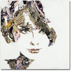 Trademark Fine Art Elke Canvas Art by Ines Kouidis, Size: 18 x 18, Multicolor