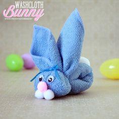 Washcloth Bunny /// conejito de toalla