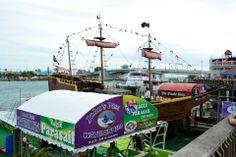 Treasure Island. FL John's Pass Pirate Ship