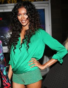 Green with Envy Jessica White attends Play at Toy at Toy in New York City.