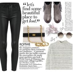 we are young!! by m-zineta on Polyvore featuring moda, Rebecca Taylor, Chanel, Linda Farrow and Anja