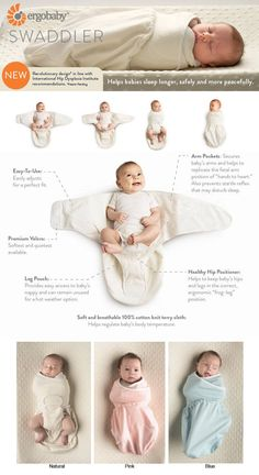 Ergobaby Swaddler : It's A Wrap – Promoting Healthy Hip Development