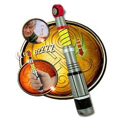 Doctor Who Exclusive Third Doctor Sonic Screwdriver