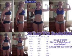 #21DayFix #results Here are my official Round 1 Results and Review! Click through to read my experience and see a sample of my meal plan!  #beforeandafter #Beachbody #BeachbodyChallenge #Shakeology #weightloss #loseweight