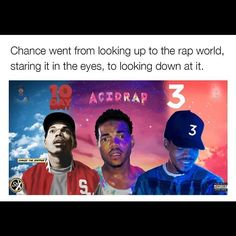 Thoughts on the new Chance The Rapper project?  #ChanceTheRapper #10Day #AcidRap #ColoringBook #3 #Surf #Chicago #Chano #INDIE #INDEPENDENT #WhyNotTVLA #OddBall by whynottvla