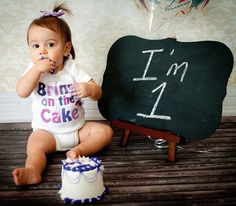 Girls First Birthday Romper 1st Birthday Snap Tee by MumsyGoose