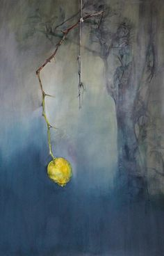 Bittersoet, #lemon, oil on canvas painting. SOLD
