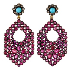 Mosaic Earring ($3,250) ❤ liked on Polyvore