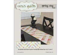 Spring Zing Table Runner (#1006)   Craftsy