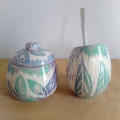 Bubble Art, Sgraffito, Ceramic Clay, Clay Pots, Bubbles, Painting, Vintage, Ideas, Design